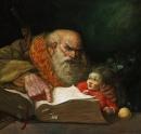 Dogma, oil on canvas, 2004