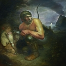 Night Hunting.  oil on canvas, 2012