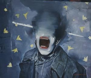 Persuasive Idea, oil on canvas 120 x 140 cm, 2014